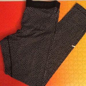 Nike Pro Long Tights Size L